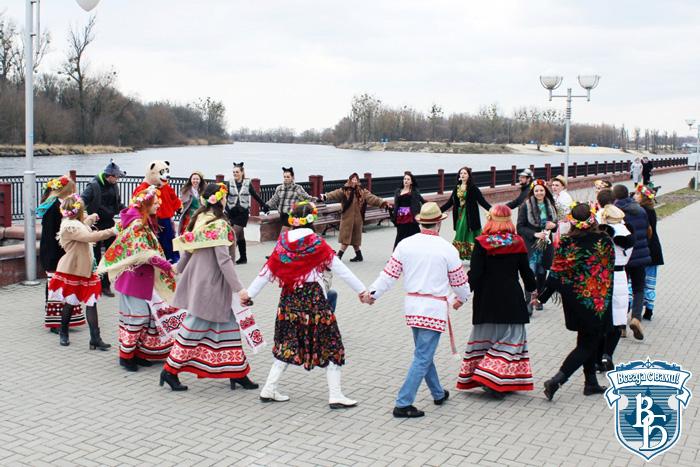 Старинный белорусский обряд «Гуканне вясны» нашел новую интерпретацию