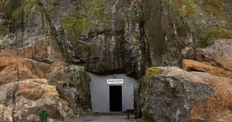 Музей в скале
