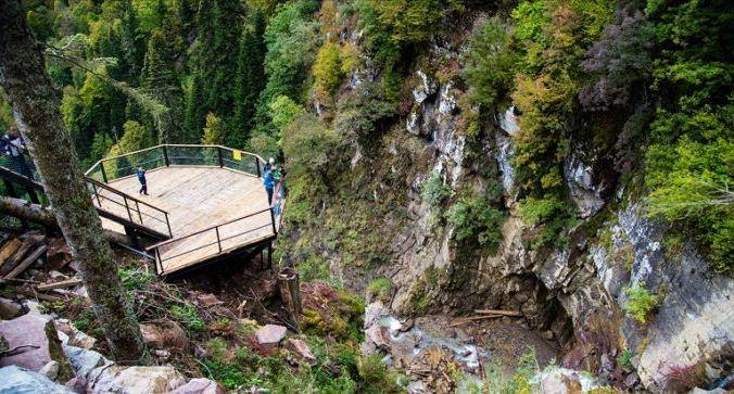 Самый высокий водопад в окрестностях Сочи