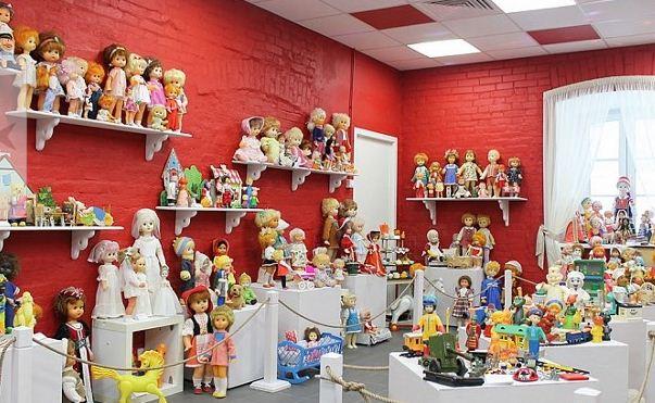 В Одоеве открылся Музей советской игрушки